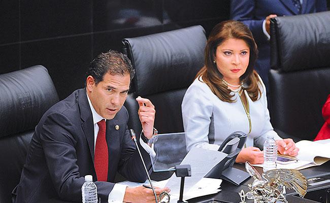 Pablo Escudero Morales, presidente de la Mesa Directiva, se pronunció por los gobiernos de coalición / Foto: Mauricio Huízar