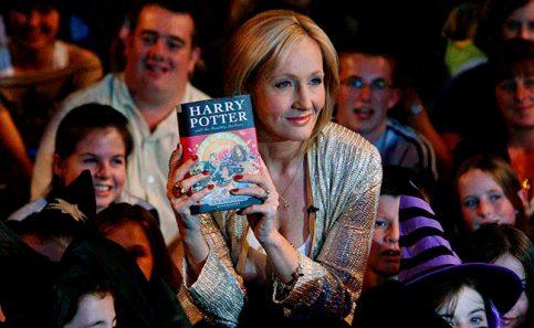 J.K. Rowling, autora de la saga de Harry Potter