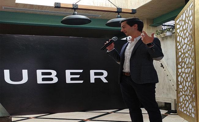 Carlos Olivos Director de Comunicación de Uber México / Foto: Archivo