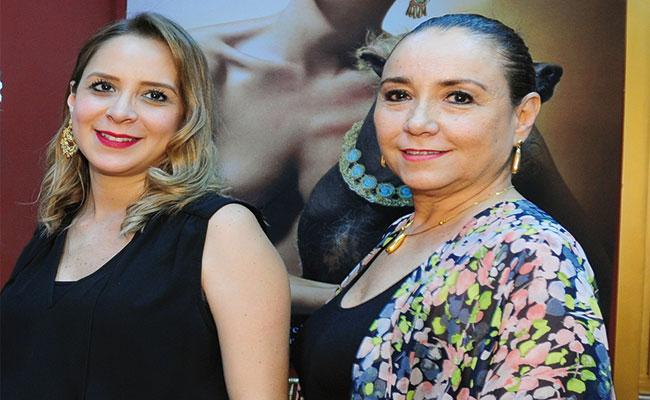 ILEANA ROJAS e Inés Valdés