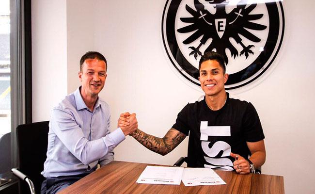 Foto: Twitter @Eintracht