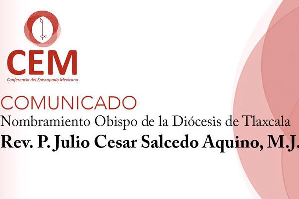 Papa Francisco designa nuevo obispo de Tlaxcala