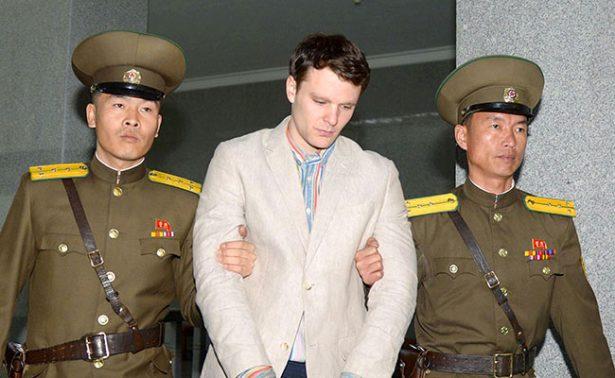 Muere el estudiante de EU que cayó en coma preso en Corea del Norte