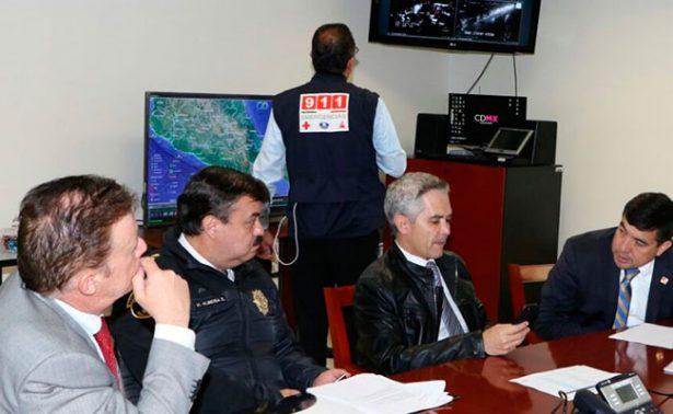 Mancera anuncia medidas de protección ante continuidad de lluvias