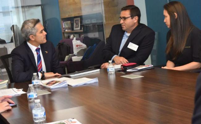 "Mancera promueve en Washington protección a migrantes, lanza ""CDMX Contigo"""