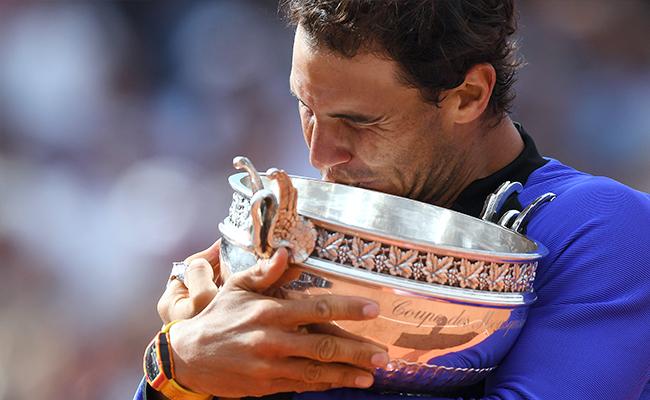 Este es el camino de Rafael Nadal hasta su décimo título en Roland Garros Foto: AFP