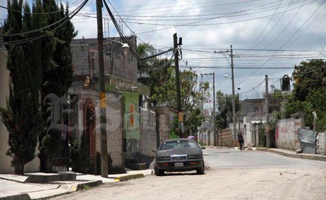 Los hechos se dieron en la colonia Villa Guadalupe. Foto: El Sol de Puebla