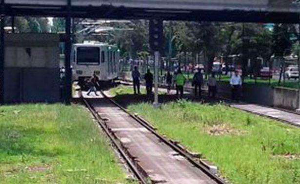 Se descarrila convoy del Tren Ligero en Mexico