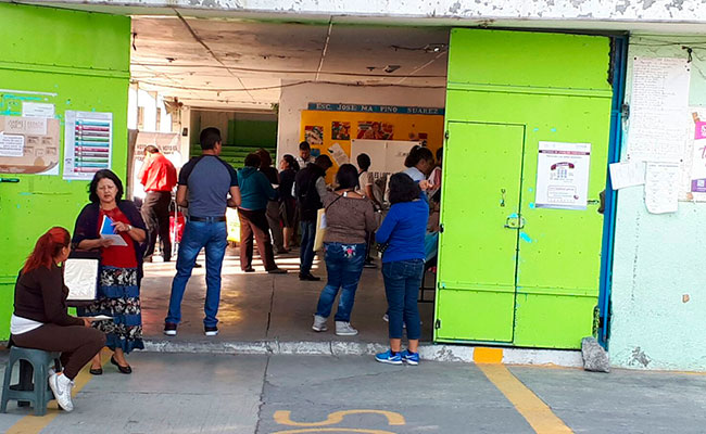 Foto: Sección 1607 distrito 22. Foto: Rogelio Tinoco / La Prensa