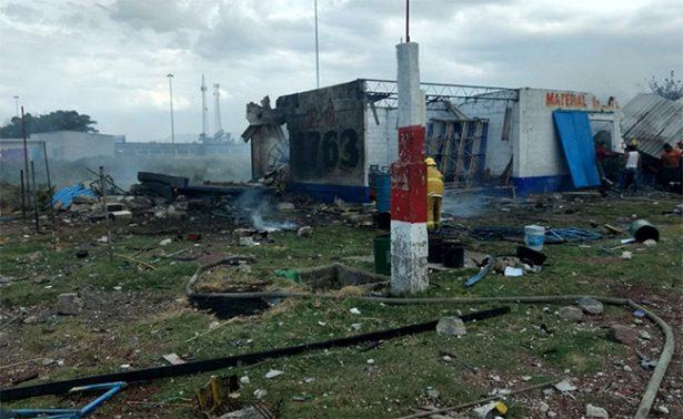 Un muerto y dos heridos por explosión de polvorín, en Chalco