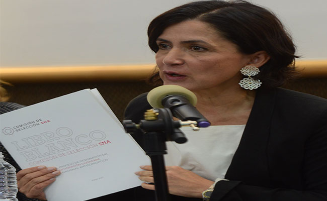preocupa a Edna Jaime Treviño, coordinadora de la Comisión de Selección del SNA, postulación del nombramiento del Fiscal Anticorrupción | Foto: Mónica Vega