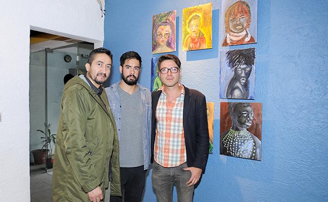 MIGUEL ÁNGEL GABRIEL, Diego de la Brena y Ulises Mendoza