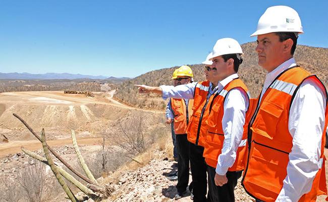 En mayo de 2011 el exgobernador de Sonora, Guillermo Padrés inauguró la mina Santa Helena