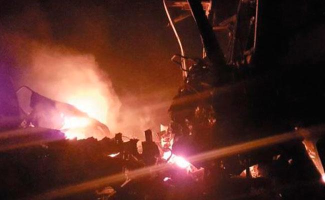 Fatal accidente deja 7 personas calcinadas : Tamaulipas