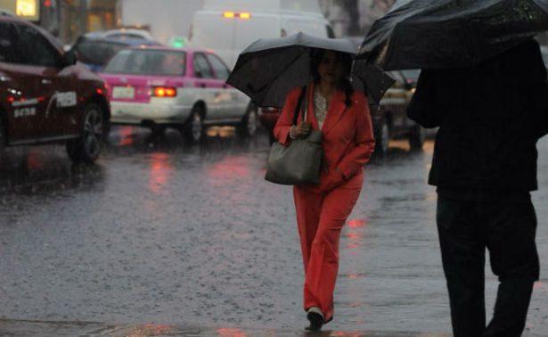 ¡Saca el paraguas! Llueve en siete delegaciones de Ciudad de México