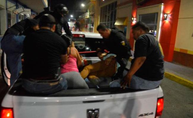 Integrantes de la MS-13 y Barrio 18 fueron detenidos tras los saqueos y disturbios del 6 de enero de este año en Tapachula, Huixtla y Huhuetán. CRÉDITO: DIARIO DEL SUR