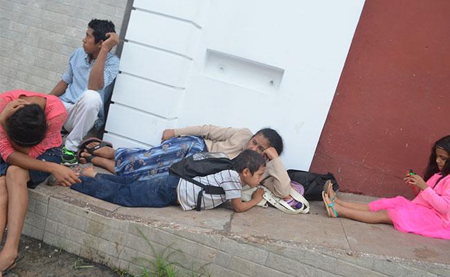 La mayoría de los que llegan a la Comar provienen de El Salvador, Honduras y Guatemala. CRÉDITO: DIARIO DEL SUR.