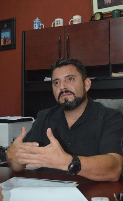 El fiscal Alejandro Vila asegura que en Chiapas han detenido maras refugiados por la Comar. CRÉDITO: DIARIO DEL SUR