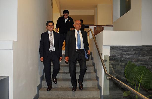 Ignacio Morales lechuga, asistió a darle el ultimo adiós. Foto: Notimex