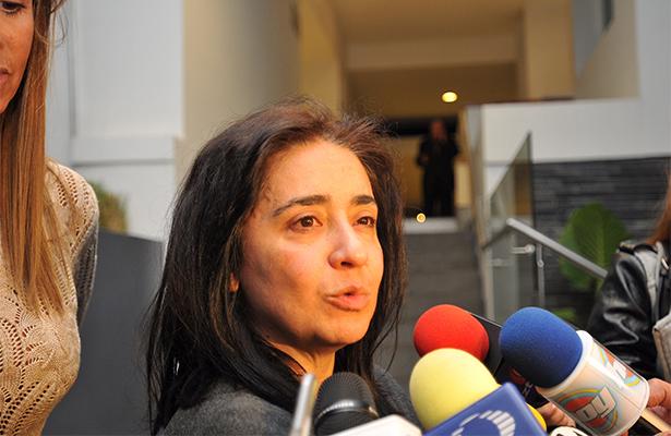 Mónica Lechuga hija del comediante. Foto: Notimex