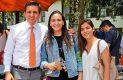 Alberto González, Sara Romano y Romina Panagiotou