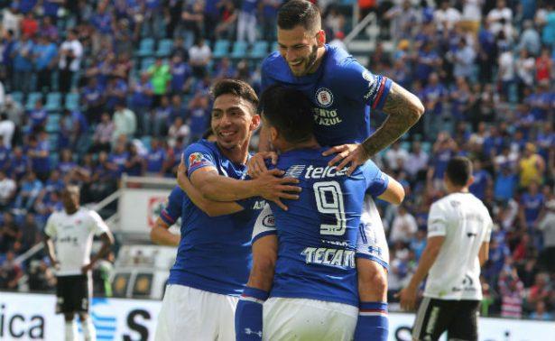Cruz Azul vence al Atlas y se mantiene invicto en el Apertura 2017