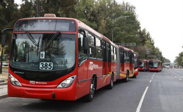 Estaciones del Metrobús interrumpirán servicio tres horas por carrera