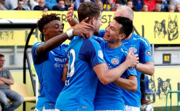 """¡Diabólico inicio! """"Chucky"""" asiste y anota en la goleada del PSV"""