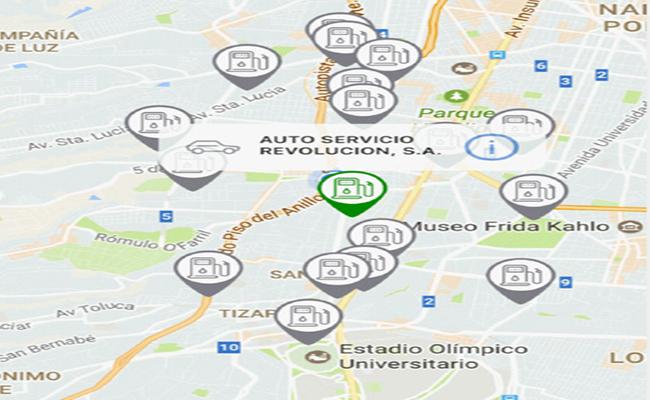 Gasoapp ayudará a encontrar la gasolinería más cercana o barata, según la ubicación | Foto: Cortesía