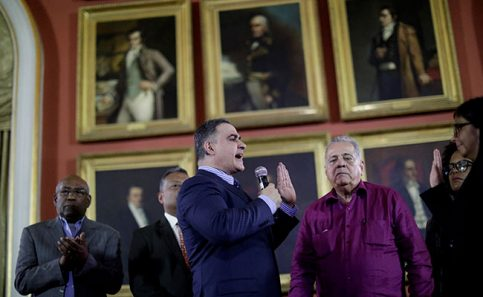 Tarek William Saab: Nuevo fiscal de Venezuela FOTO: Reuters