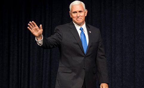 Pence rechazó interés en postularse a la presidencia. Foto: Reuters