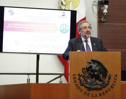 Luis María Aguilar Morales, presidente de la Suprema Corte de Justicia de la Nación (SCJN)