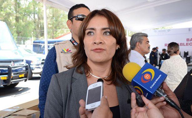 Lilia Cipriano Ista Titular del Secretariado Ejecutivo del Sistema Estatal de Seguridad Pública