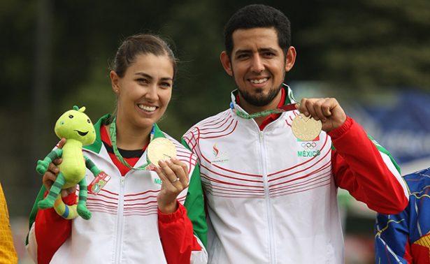 Linda Ochoa y Julio Fierro ganaron plata en Copas del Mundo de tiro con arco