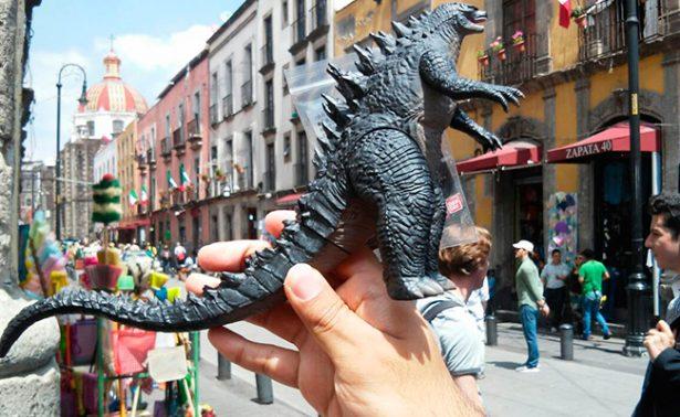 """¡LLega Godzilla! Conoce qué calles """"destruirá"""" en la CDMX"""