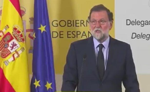 Mariano Rajoy convoca a pacto antiterrorista; decretan tres días de luto