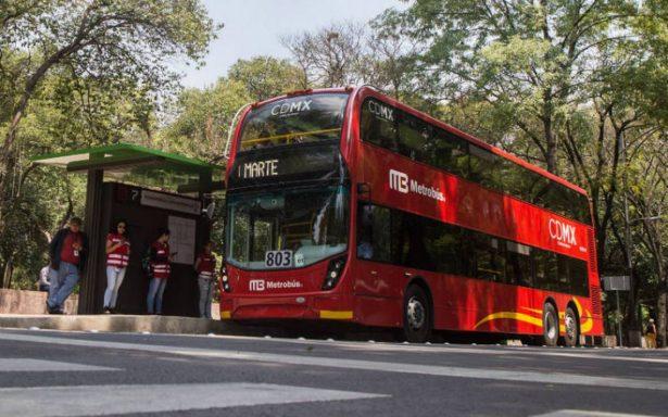 Metrobús modificará servicio por marcha LGBTTTI, festejo y reparaciones