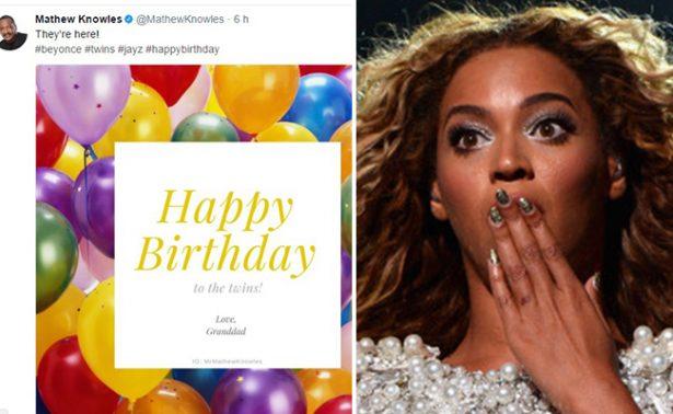 Padre de Beyoncé confirma que la estrella dio a luz a gemelos