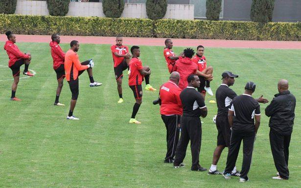 Selección de Trinidad y Tobago entrena en San Luis para enfrentar a México