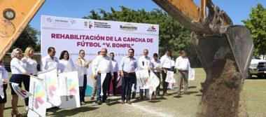 Entrega Silvano Aureoles  10 mdp en obras para  habitantes de Buenavista