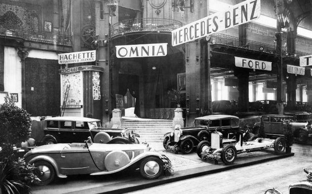 Retrovisor: escaparates internacionales de la industria automotriz