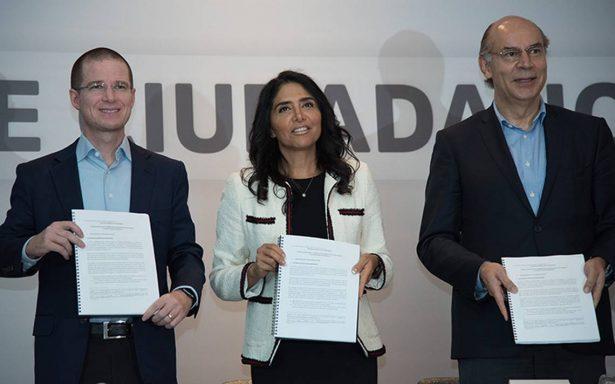 PRI impugna ante el INE conformación del Frente Ciudadano por México