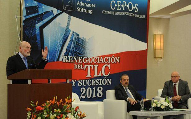TLCAN no corre riesgo ante procesos políticos de 2018
