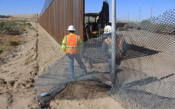 Comienza en Texas construcción de nuevo muro para frenar inmigración clandestina