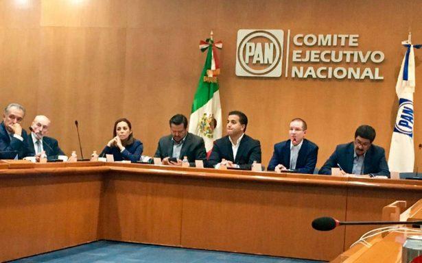 Por unanimidad PAN aprueba ir con PRD y Movimiento Ciudadano en Frente Amplio