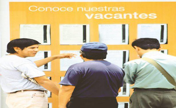 Representó desocupación en México 3.6% de la PEA