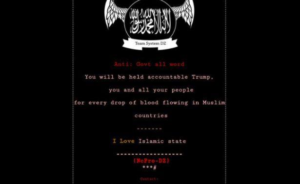 Hackean sitios del gobierno de Ohio; los invaden de propaganda del EI