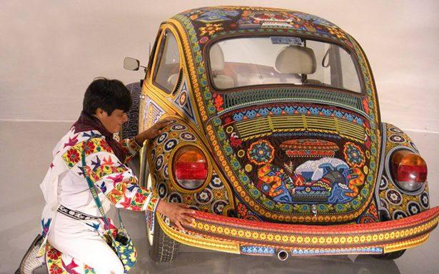 Con primera bienal buscan dignificar el arte Huichol
