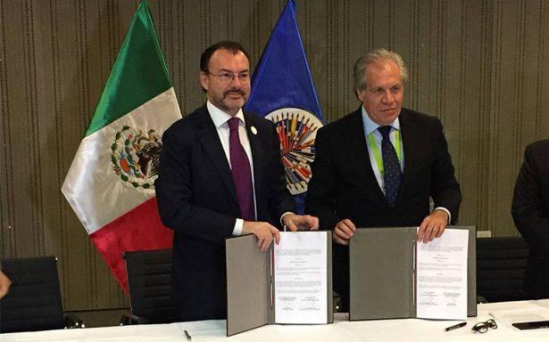 México reitera su compromiso con apertura a la observación electoral: Videgaray