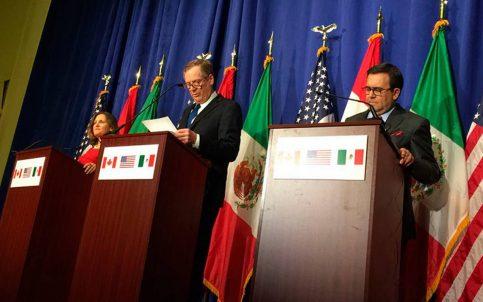 Aún sin acuerdo, se realizará 5ta ronda de renegociación del TLCAN en la CDMX